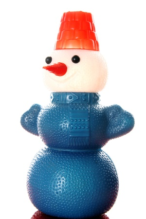hat new year s eve: vintage toy Snowman