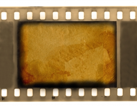 empty vintage 35 mm frame film Stock Photo - 15714035