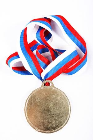 reconocimiento: Medal Ribbon y color Foto de archivo