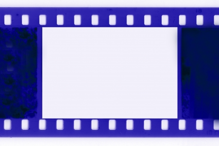 Film frame empty blank Stock Photo - 15723632
