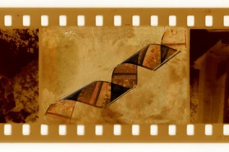 oldies: oldies 35mm frame photo with film tape