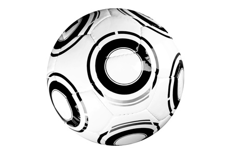 modern soccer game ball isolated on white background Stock Photo - 15723625