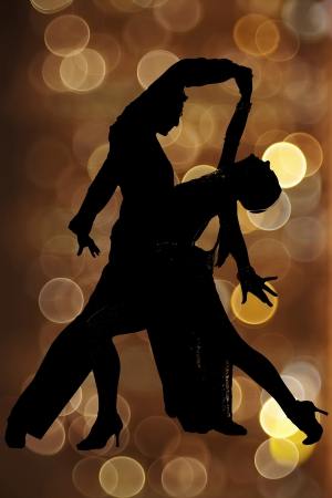 Tango dancers photo