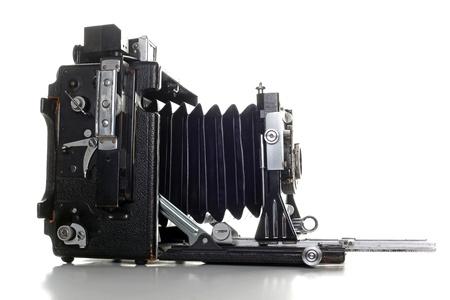 folding camera: Old clssic large format Press camera