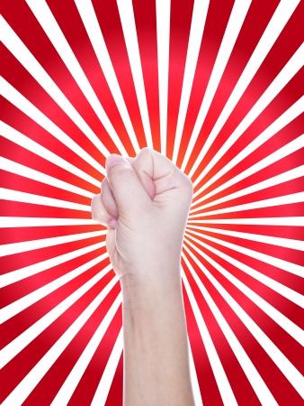 fist in protest photo