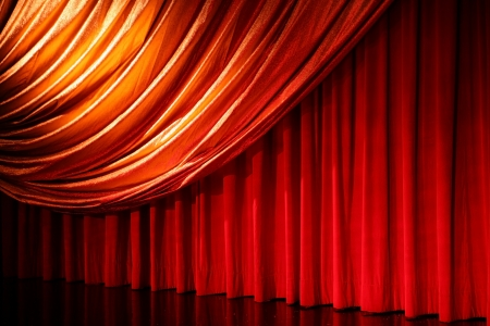 classical retro elegant theater photo