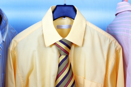 Next Day - Mix color Shirt and Tie on Hangers photo