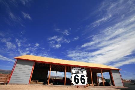 rout: USA, historic rout 66, Arizona area Editorial