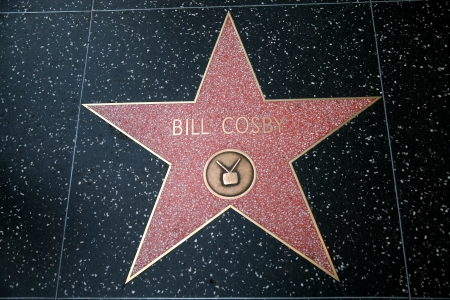 stardom: Bill Cosby star on the Hollywood Walk of Fame