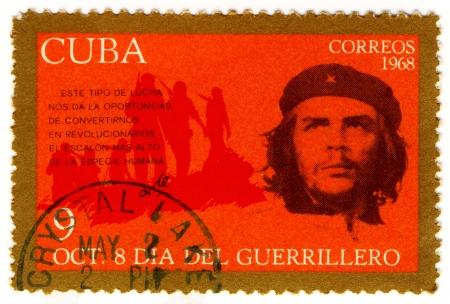 guerrilla: CUBA - CIRCA 1968   Ernesto Che Guevara- legendary guerrilla