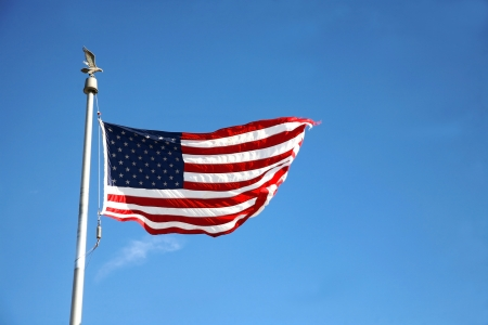 flag of USA Stock Photo - 15781133