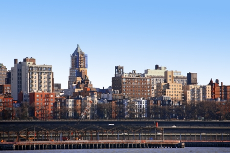 classical NY - Bronx, view from Manhattan, USA photo