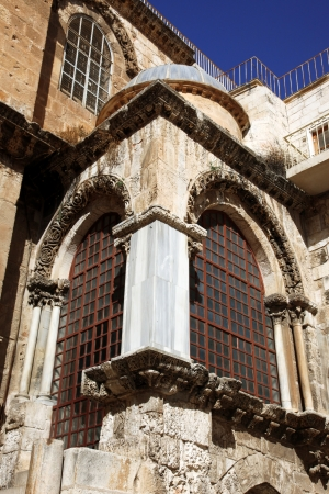 Part of The Church of the Holy Sepulchre in Jerusalem, Israel photo
