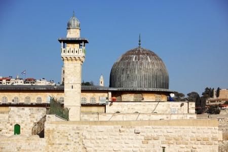 al aqsa: Al Aqsa Mosque in Jerusalem, Israel Stock Photo