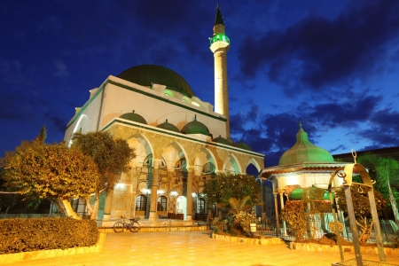 acre: Classic Israel - Mosque of Al-Jazzar in Acre ( also Akko ) in Western Galilee