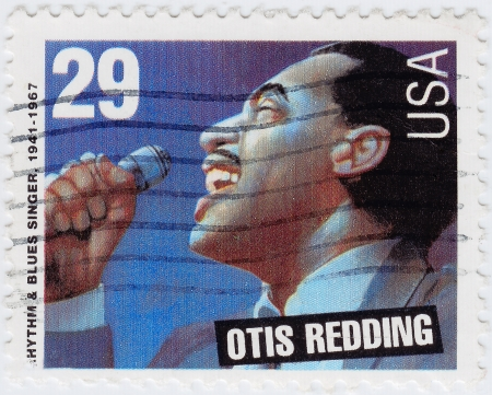 USA - CIRCA 1997 : stamp printed in USA shows Otis  Redding is an Rhythm and Blues singer, circa 1997 Stock Photo - 15837505