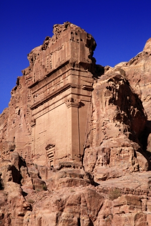 Petra - nabateos ciudad capital de Al Khazneh, Jordania photo
