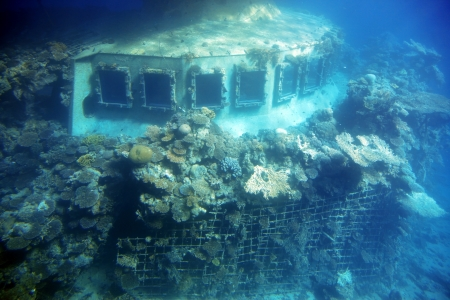 sunken ship  photo