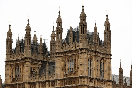 rectilinear: Houses of Parliament, Westminster Palace, London gothic architecture