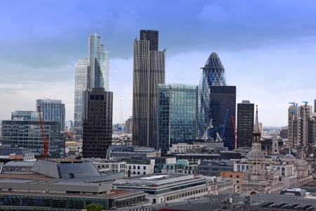 financial district: London City
