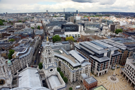 London from St Paul's Cathedral, UK  Stock Photo - 15852846