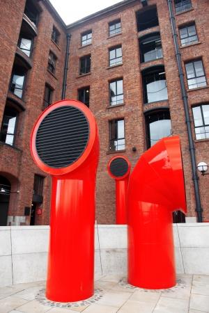 Liverpool at the Albert docks , UK photo