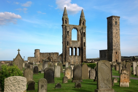 andrews: St Andrews cathedral grounds, GB