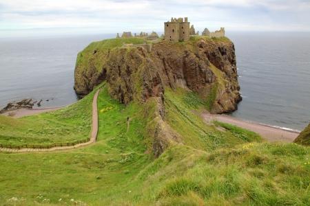formidable: Dunnottar Castle, Scotland, UK Stock Photo