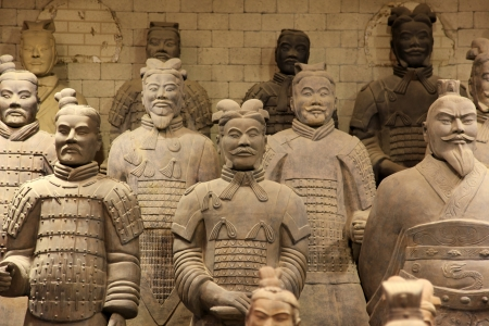 tomb empty: The famous terracotta warriors of XiAn, China