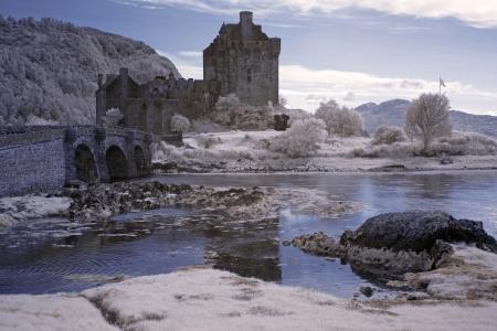 Eilean Donan Castle, Schottland, GB Standard-Bild - 15855541