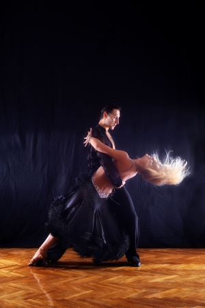 dancers in ballroom photo