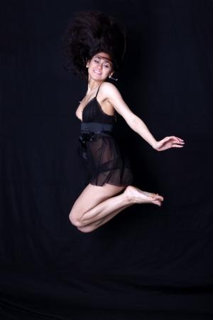 dancer in jump Stock Photo - 15949362
