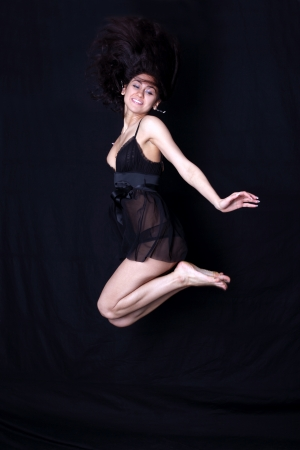 dancer in jump Stock Photo - 15949362
