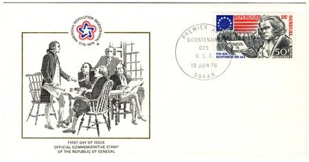 vintage envelopes of american revolution bicentennial