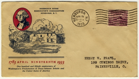 old USA envelope Stock Photo - 15986731