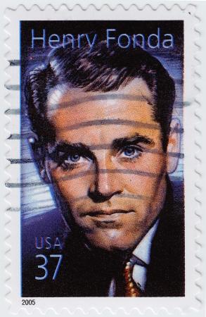 USA - CIRCA 2005 : stamp printed in USA shows Henry Fonda American actor, circa 2005 Stock Photo - 16127664