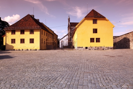 Akershus Fortress in Oslo, Norway photo