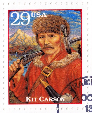 USA - CIRCA 1994 : Stamp printed in the USA shows Christopher Houston