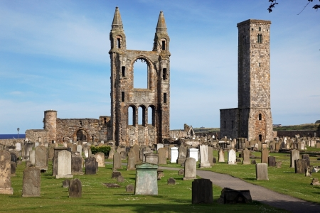 St Andrews cathedral grounds, Scotland, UK Stock Photo - 16602382