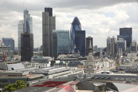 institutions: Famous financial hub in London , UK