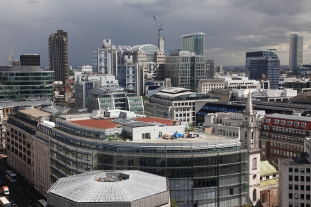 London from St Pauls Cathedral, UK  photo