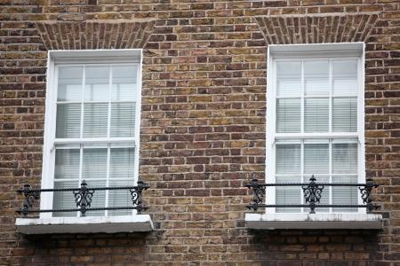 Old windows in London