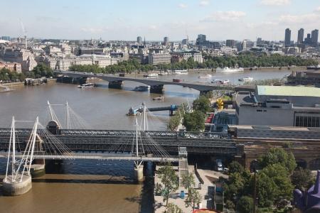 brige: London from London Eye, UK Editorial