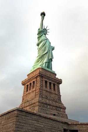 ny: NY Statue of Liberty Stock Photo