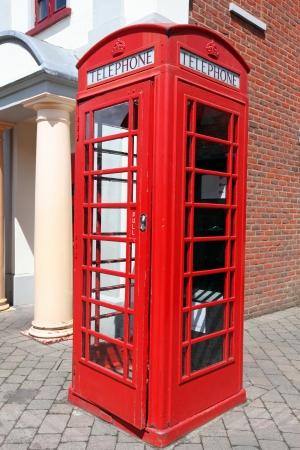 the Red telephone box, London, UK photo