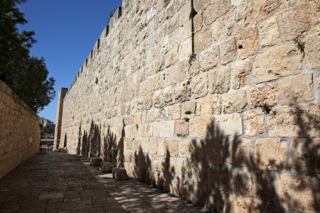 sephardi: Jerusalem old city, site near Zion Gate