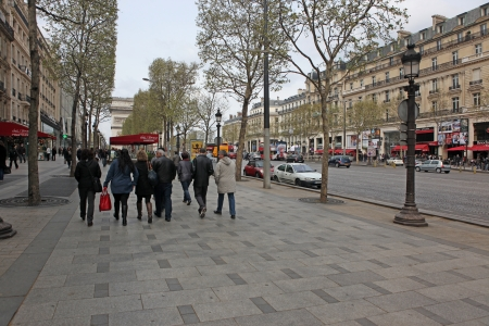 champs elysees: the Avenue des Champs-elysees Avenue des Champs Elysees is the biggest and most famous and expensive boulevard in the world