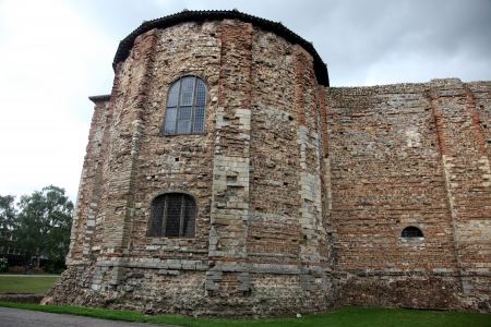 11th century: Old castle in Colchester 11th century Norman, UK