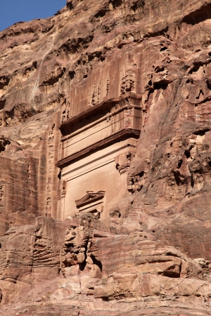 caved: Petra Nabataeans capital city   Al Khazneh  , Jordan