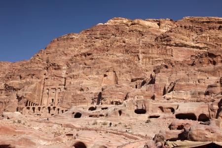 khazneh: Petra Nabataeans capital city  Al Khazneh , Jordan